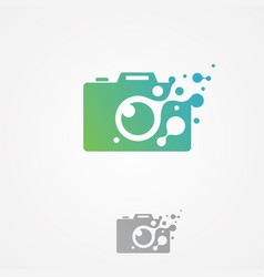 pixel photography vector image
