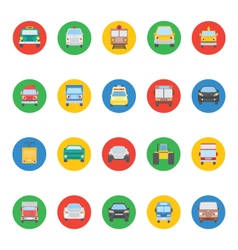 Transports Icons 2 vector image