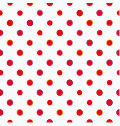white pattern with polka dots vector image