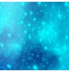 Blue abstract romantic with stars EPS 10 vector image