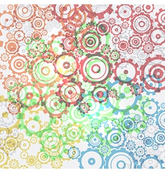Abstract cogs - gears background vector image