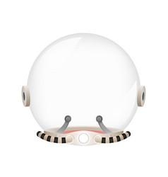 Astronaut cosmonaut helmet spaceman tantamareska vector