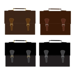 Briefcase vector image