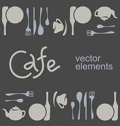 Cafe corporate style vector