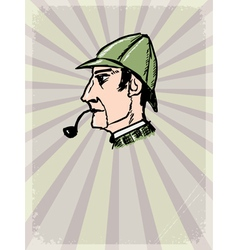 Sherlock Holmes vector