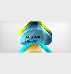 techno lines hi-tech futuristic abstract vector image