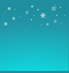 Realistic snowflakes vector