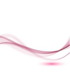 Abstract background the pink wave of smoke vector