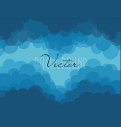 abstract blue ripples bacground water waves vector image
