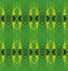 geometrical green background vector image