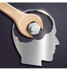 Human head vector