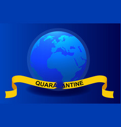 quarantine is over coronavirus is finish vector image