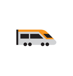 train transportation icon design template vector image