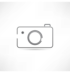 Simple camera icon vector image vector image