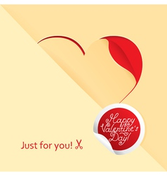 happy love vector image