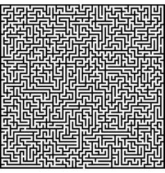 Abstract maze of high complexity vector
