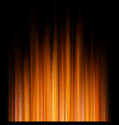 abstract orange lights on a dark background eps vector image