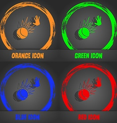 Basketball icon Fashionable modern style In the vector image