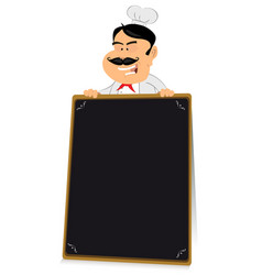 blackboard restaurant sign vector image