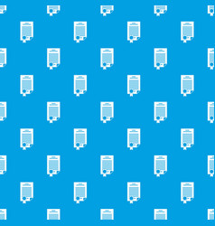 Contract pattern seamless blue vector