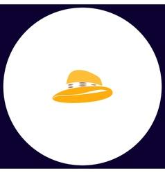 Cowboy hat computer symbol vector