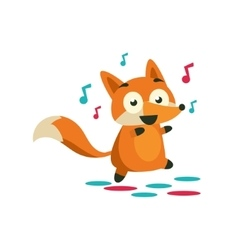 Fox On The Dancefloor vector