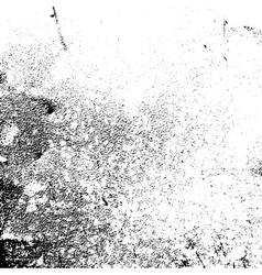 Grunge texture white black grain vector image