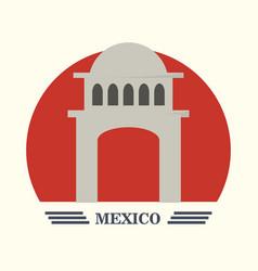 mexico concept design vector image