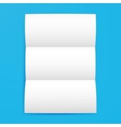 Empty Brochure Template vector image vector image