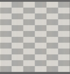 Abstract seamless pattern of striped rectangles vector