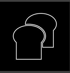 bread it is icon vector image