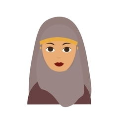 Islam Woman Flat vector