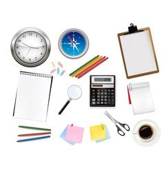 Office supplies vector