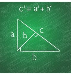 Pythagorean proposition vector