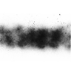 spray particles texture overlay isolated vector image