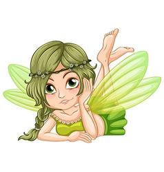 Gree fairy vector image vector image