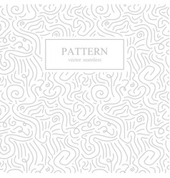 curve seamless pattern in memphis style vector image vector image