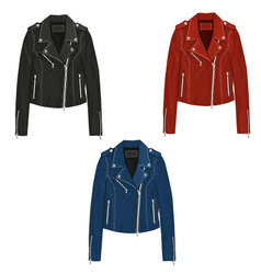 Leather Jacket vector image vector image