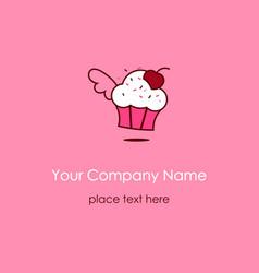muffin symbol vector image