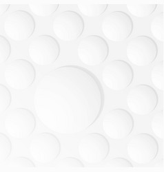 abstract of white color bubble background vector image