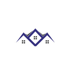 house real estate logo icon design vector image
