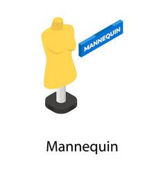Mannequin vector