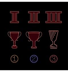 Prize Icons 01 A vector