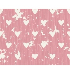 seamless background with lines and hearts vector image