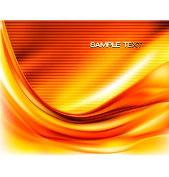 autumn abstract transparent background vector image vector image