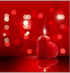 valentines romantic background vector image