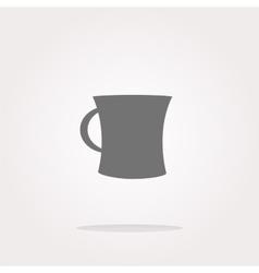 Coffee mug - icon isolated vector image