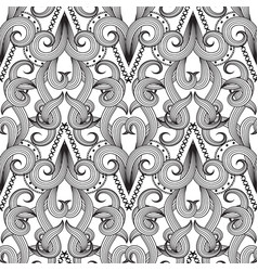 abstract elegance black and white decorative vector image