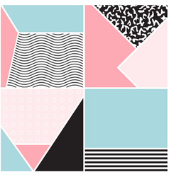 abstract geometric seamless pattern vector image