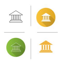 account balance icon vector image
